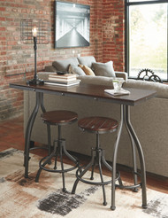 Odium Rustic Brown Rectangular  Counter TBL Set(3/CN)