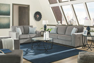 Altari Alloy Sofa, Loveseat, Chair, Ottoman & Tarrin Table Set