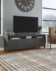 Yarlow Black Extra Large TV Stand