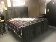 Limewash King Bed - Online Only