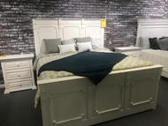 White King Bed - Online Only