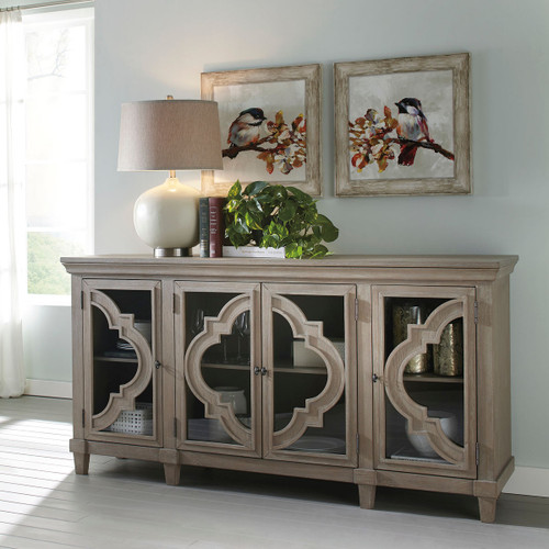 The Fossil Ridge Gray Door Accent Cabinet Available At