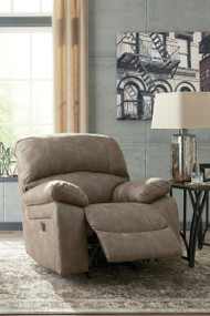 Dunwell Driftwood Power Rocker Reclining/Adjustable Headrest
