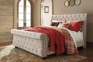 Willenburg Linen Queen Upholstered Bed