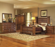 Torreon Queen Bedroom Group Pine