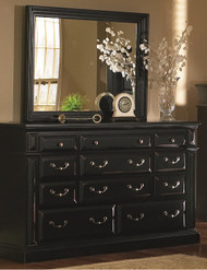 Torreon Mirror Black