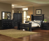 Torreon Queen Bedroom Group Black