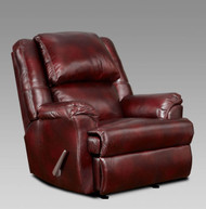 Mesa Rocker Recliner Bordeaux