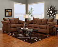 Macon Loveseat Aruba Chocolate