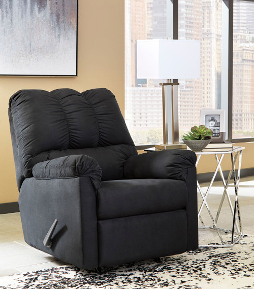The Darcy Black Rocker Recliner Available At Furniture