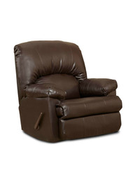 Victory Rocker Recliner Flatsuede Chocolate