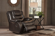 Vacherie Chocolate Rocker Recliner