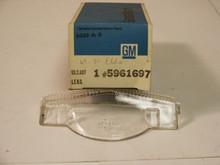 1969, 1970 Cadillac Eldorado GLASS Back up Lens