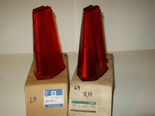 1969 NOS Cadillac Tail Lamp Lenses