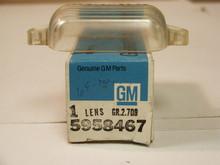 1969 1970 Cadillac License Plate Lens, NOS