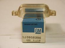 1967,1968,1969,1970 Cadillac NOS Eldorado License Plate Lens, NOS