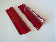 1959 1960 Cadillac Eldorado Red Door Warning Lenses