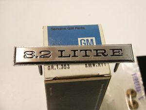 1970 Cadillac Eldorado 8.2 Litre Emblem NOS