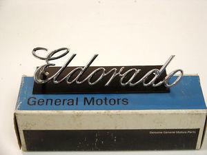 1970 Cadillac Eldorado NOS Grill Script