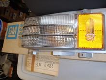 1976 Cadillac Deville Corner Lamp assembly LH (5967973)