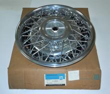 1988 1989 1990 Cadillac NOS Wheel Disc, Hub Cap