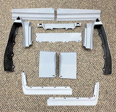 1980 1981 1982 1983 1984 1985 1986 1987 1988 1989 1990 1991 1992 Fleetwood Brougham 10 piece Complete Bumper Filler Set