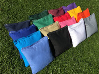 !FREE SHIPPING! SET OF 4 Premium Solid Color Corn Filled Cornhole Toss Bags