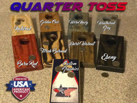 Custom Quarter Toss Games