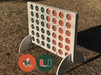 University of Miami Four in a Row Game