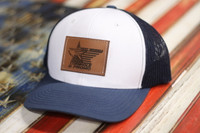 Custom Leather Patch Hat