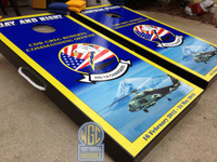 Military Themed Custom Cornhole Set