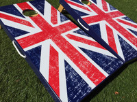 UK British Flag Cornhole Boards