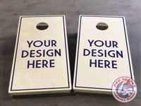 CUSTOM Pro Series Tournament Grade Cornhole Boards