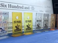 Acrylic Cornhole Trophies