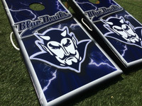 Bremen Blue Devils Custom Cornhole Board Sets