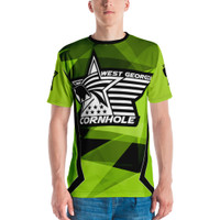 WGC Fractal Green- Jersey Polyester Material