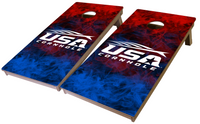 USA Cornhole Pro Series Tournament Grade Cornhole Boards-Smoke
