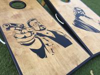 The Big Lebowski Cornhole Board Set