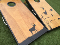 Deer and Ducks Cornhole Boards