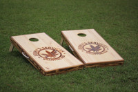 Burner and Laser Engraved Custom Cornhole Boards