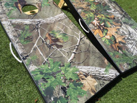 Realtree EXTRA Green Camo Cornhole Boards