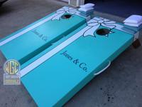 Tiffany and Co Style Custom Cornhole Boards