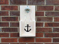 Anchor Design Wall Hanging Bottle Opener