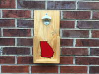 State Pride Wall Hanging Bottle Opener