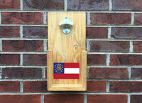 State Flag Wall Hanging Bottle Opener