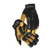 Caiman® Natural Pigskin Leather Mechanics Gloves  ##2956 ##