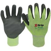 ANSI A4 - Z-GRIP Cut Resistant Polyurethane Coated Gloves  ##4928HG ##