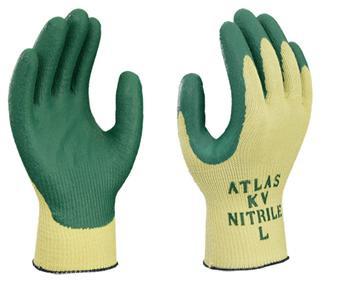 ATLAS® Nitrile Palm Coated Cut Resistant Gloves  ##KV350 ##