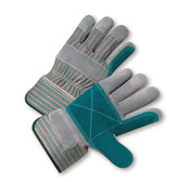 Double Palm Leather Work Gloves  ##535 ##
