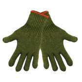 Green Rag Wool Gloves  ##S77RW ##